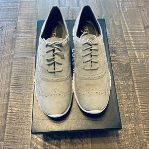 NEW COLE HAAN Women's ZEROGRAND Wingtip Oxford